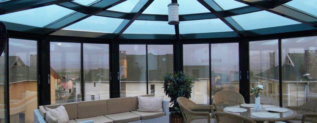 انواع شیشه بالکن